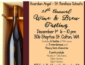 18th Annual Wine & Brew Tasting! GASB School
