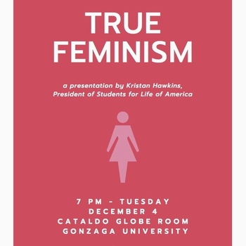 True Feminism - President Kristan Hawkins of Students for Life of America