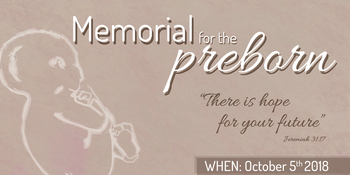 Memorial for the Preborn