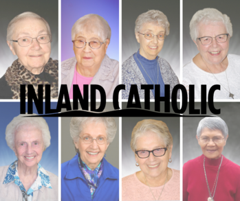 Eight Sisters of Providence Mark  <br /> 25 to 75 Years of Religious Life
