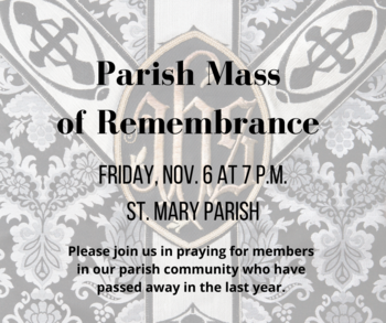 Mass of Remembrance