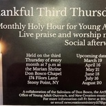 Thankful Third Thursdays - Beginning March 19, 2020 [Save the Date]