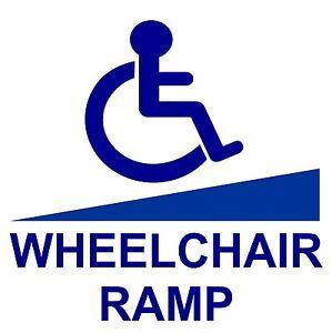 HANDICAPPED RAMP ACCESS