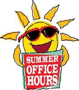 RECTORY SUMMER OFFICE HOURS