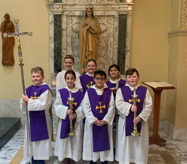 St. Matthew Church Altar Servers