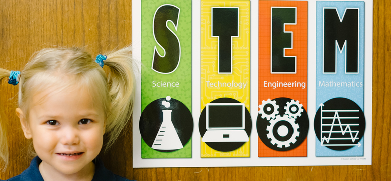 STEM education begins early and is woven through the curriculum and practices at OLGCS at all grade levels.