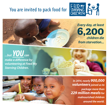 Feed My Starving Children Charity Volunteer Work