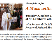 Mass with Healing Prayers