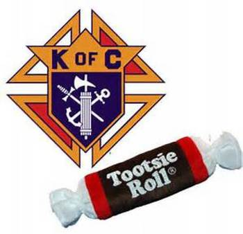 Knights of Columbus' drive for the intellectually disabled – the Tootsie Roll drive