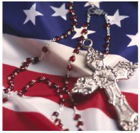 Rosary for Peace and 4th of July Mass