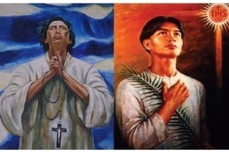 daily novena for the Feast day of San Lorenzo Ruiz de Manila and San Pedro Calungsod celebration