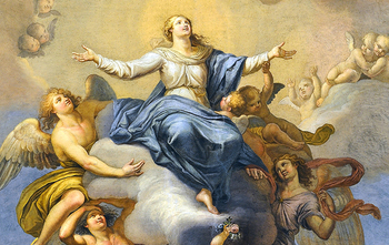 The Assumption of the Blessed Virgin Mary (a holy day of obligation)