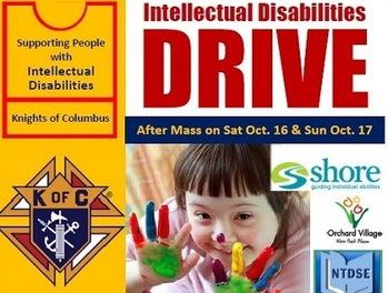 Annual drive to support people with intellectual disabilities