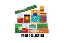 OUR MONTHLY FOOD COLLECTION