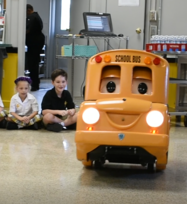 Buster the Bus Visits OLPH