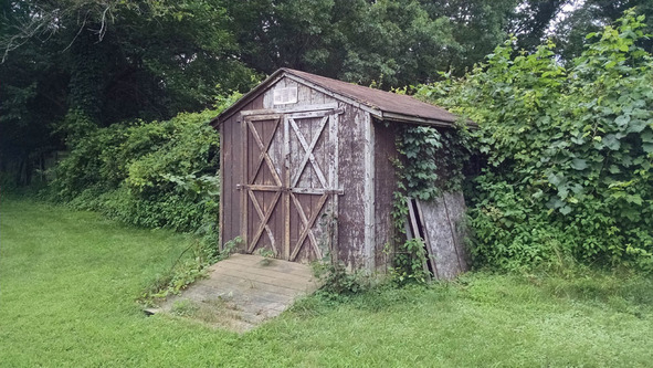 Old Shed at St. Christopher's School