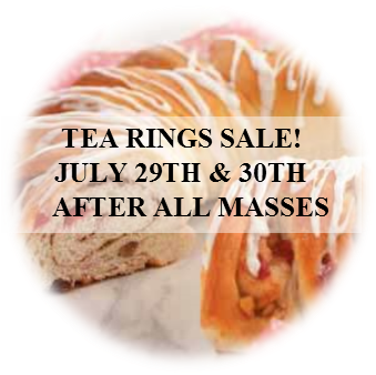 Tea Rings Sale!