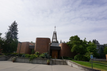 Sacred Heart Church: A Mid-Century Modern Architectural Jewel