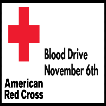 Blood Drive - November 6th