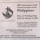 500th Anniversary of the Christianization of the Philippines