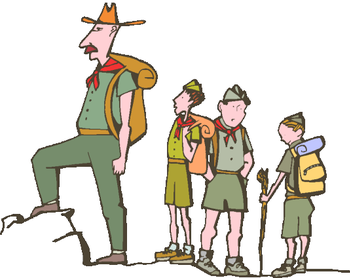 Boy Scouts Meeting