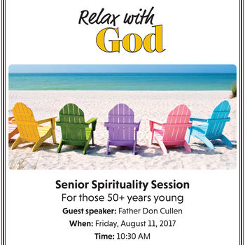 Relax with God - Senior Spirituality Session