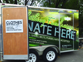 The Clothing Truck is here!
