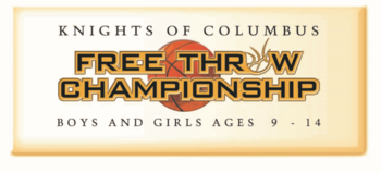 Annual Free Throw Contest at Curé of Ars sponsored by Knights of Columbus Council 9856