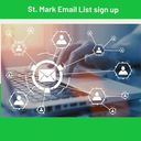 Sign up today to receive emails from St. Mark
