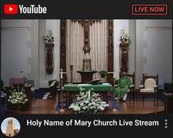 Holy Name of Mary Church Live Stream
