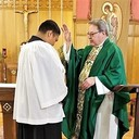 ANDREW BORROMEO recognized for Service to our Parish