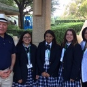 Students attend the Bishop's Invitational Golf Tournament