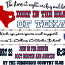 Deep in the Heart of Texas Annual Gala
