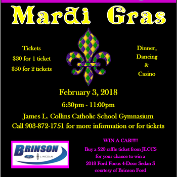 Annual Gala & Brinson Ford Vehicle Raffle