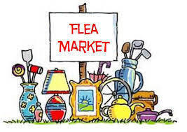 Flea market and food sale