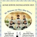 New Altar Server Installation 2015