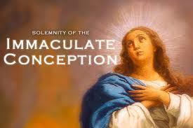 The feast of the Immaculate Conception of Mary