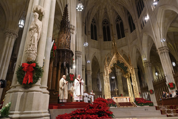 Media Advisory - Christmas Concert and Masses at St. Patrick's Cathedral