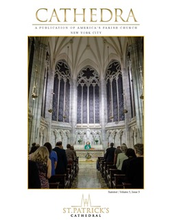 Image of the first page of the Fall newsletter with Advent on 5th ave.