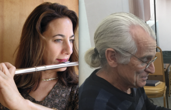 Kenneth Corneille (organ) & Peggy Jon Steckler (flute)