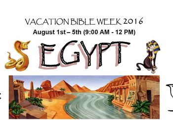 Vacation Bible Week 2016