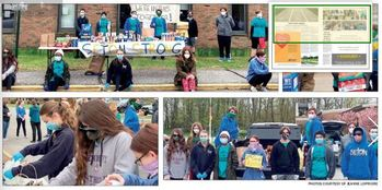 Students from Seton Donate to St. Mary's Food Pantry