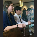 Divine Mercy Sunday Led by High School Students