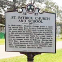 Historical Marker Placed at St. Patrick Church and School