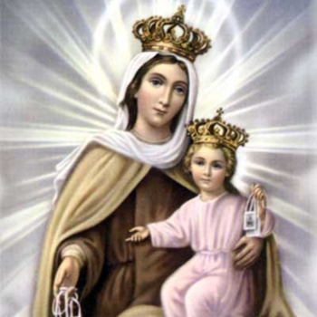 Our Lady of Mt. Carmel- Enrollment in the Brown Scapular