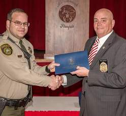 Chaney Graduates from Police Academy