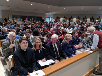 Catechumens, Candidates Attend Rite of Election