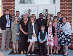 New Parishioners Join Church During Easter Vigil!