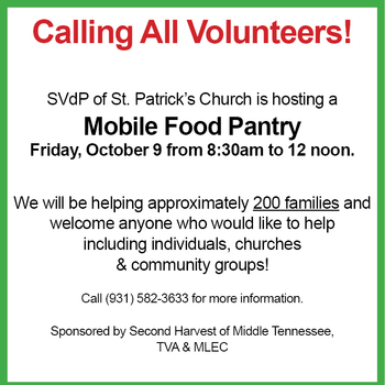 Volunteer for our Mobile Food Pantry!