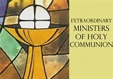 Extraordinary Minister of Holy Communion training